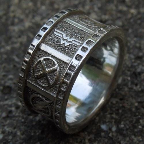 Cicmil Crowns Jewelry Dc Superhero Wedding Band